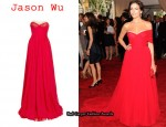 In Camilla Belle's Closet - Jason Wu Camilla Gown