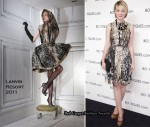 Carey Mulligan In Lanvin - Boutiques.com Launch Party by Google