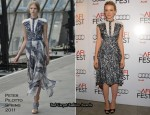 "Carey Mullgian In Peter Pilotto - Los Angeles Times ""Young Hollywood"" Roundtable"