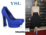 In Carey Mulligan's Closet - YSL Palais Pumps