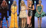 Carrie Underwood's Wardrobe Changes At The 2010 CMA Awards