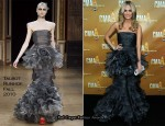 Carrie Underwood In Talbot Runhof - 2010 CMA Awards