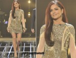 X Factor: Saturday Week 7 – Cheryl Cole In Falguni and Shane Peacock