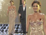 X Factor: Saturday Week 6 – Cheryl Cole In Roberto Cavalli