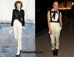 "Chloe Sevigny In Chanel - MOCA's Annual Gala ""The Artist's Museum Happening"""