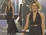 X Factor: Sunday Week 8 – Dannii Minogue In Halston