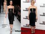 "Elizabeth Banks In Versace - ""The Next Three Days"" New York Premiere"