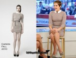 Emma Watson In Carven - The Today Show