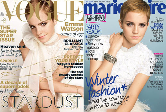 emma watson vogue 2010. We don#39;t see Emma Watson for a