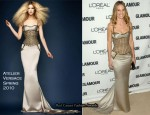 Hilary Swank In Atelier Versace - 2010 Glamour Women of the Year Awards