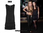 In Demi Moore's Closet - IRO Kiara Satin Tank Dress