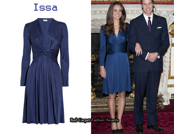In Kate Middleton S Closet Issa Blue Dress