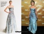 Jennifer Nettles In Carolina Herrera – 2010 CMA Awards