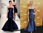 Katherine Heigl In Farah Angsana - 2010 CMA Awards