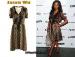 In Kerry Washington's Closet - Jason Wu Okal Animal Print Dress