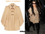 In Kim Kardashian's Closet - Juicy Couture Wool Cape