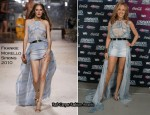 Kylie Minogue In Frankie Morello - Starfloor Event