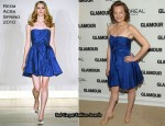 Elisabeth Moss In Reem Acra - 2010 Glamour Women of the Year Awards