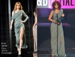 Rihanna In Elie Saab Couture - 2010 American Music Awards Stage