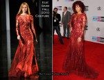 Rihanna In Elie Saab Couture - 2010 American Music Awards