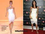 Rosario Dawson In Christian Siriano - 2010 BAFTA Los Angeles Britannia Awards