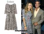 In Sarah Jessica Parker's Closet - Erdem Margot Printed Dress