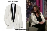 In Julia Roberts' Closet - Stella McCartney Wool-Twill Tuxedo Jacket