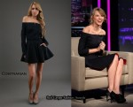 In Taylor Swift's Closet - Contrarian Off-The-Shoulder Dress