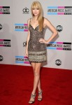 Taylor Swift In Collette Dinnigan - 2010 American Music Awards