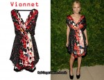 In Tory Burch's Closet - Vionnet Wrap Dress
