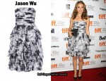 In Natalie Portman's Closet - Jason Wu Oleg Strapless Dress