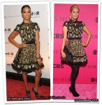 Who Wore Louis Vuitton Better? Paris Hilton or Zoe Saldana