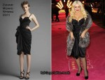 "Christina Aguilera In Zuhair Murad - ""Burlesque"" London Premiere"