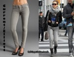 In Jessica Alba's Closet - Current/Elliott The Skinny Jeans