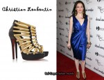 In Rose McGowan's Closet - Christian Louboutin Romaine 140 Platform Sandals