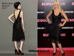 "Christina Aguilera In Marchesa - ""Burlesque"" Madrid Premiere"