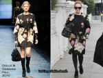 Runway To Sidewalk – Kylie Minogue In Dolce & Gabbana
