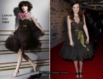 Georgie Henley In Lanvin For H&M – 2010 British Independent Film Awards