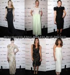 Who Was Your Best Dressed At The Hollywood Style Awards?