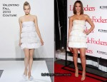 "Jessica Alba In Valentino Couture - ""Little Fockers"" LA Premiere"