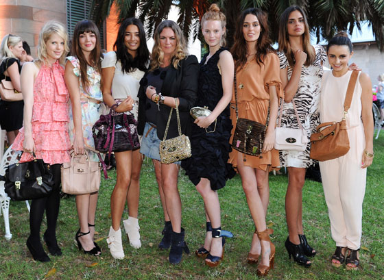 Mulberry Australian Store Opening Launch Party - Red Carpet Fashion ... 3edc16314
