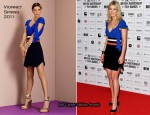 Rosamund Pike In Vionnet - 2010 British Independent Film Awards