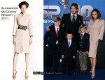 Victoria Beckham In Alexander McQueen - BBC Sports Personality Awards