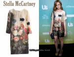 In Alexis Bledel's Closet - Stella McCartney Botanical Dress