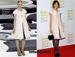 Alexa Chung In Chanel - 2010 British Fashion Awards