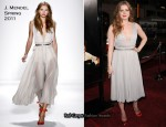 "Amy Adams In J. Mendel – ""The Fighter"" LA Premiere"