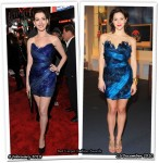 Who Wore Marchesa Better? Anne Hathaway or Katharine McPhee