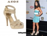 In Olivia Munn's Closet - ASOS Portia Platform T-Bar Shoes