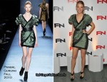Blake Lively In Prabal Gurung - 2010 Footwear News Achievement Awards