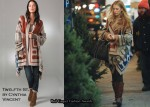 In Blake Lively's Closet - Twelfth St. by Cynthia Vincent Blanket Sweater
